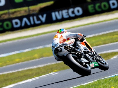 De Angelis hopes result will keep him in MotoGP
