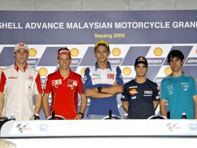 MotoGP-Stars auf das Sepang-Wochenende gespannt