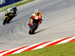 Pedrosa concentrating on braking