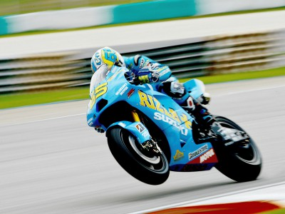 Capirossi sixth at a sweltering Sepang