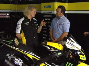 Coulon gives details on satellite Yamaha M1