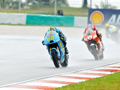 Capirossi left rueing the rain at Sepang