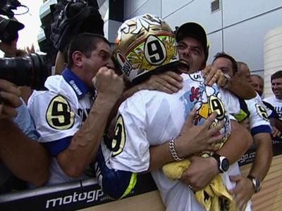 O 9º título de Rossi: Gallina vecchia fa buon brodo