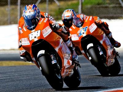 El dúo de Ducati espera exhibirse en el circuito Ricardo Tormo