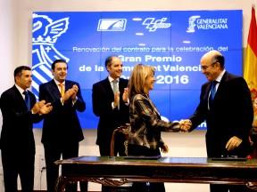 バレンシアGP、2016年まで延長開催決定