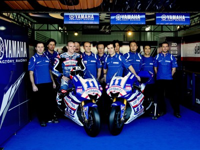 Yamaha unveils Ben Spies' livery for Valencia