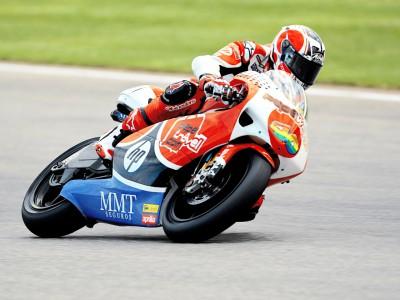 Barberá on top in 250cc practice
