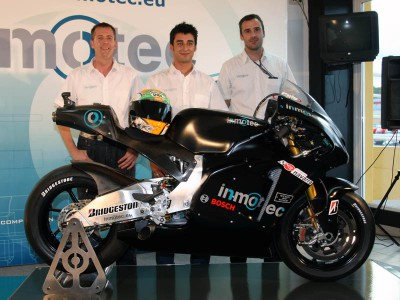 Inmotec provide further details on MotoGP project