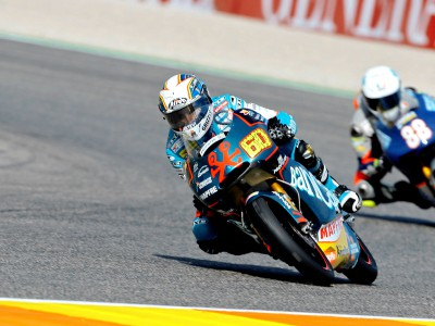 Simón leads 125cc grid at Valencia
