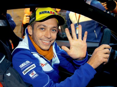 Rossi takes BMW M Award and enjoys M3 GTS drive