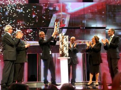 Valencia ospita la cerimonia FIM MotoGP Awards 2009
