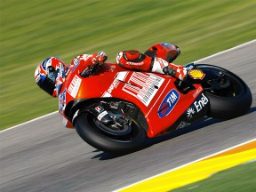 Stoner back in the groove as Valencia test gets underway
