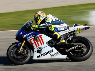 Good first test day for Fiat Yamaha pair at Valencia