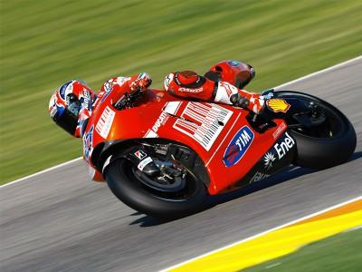 Stoner y Hayden arrancan con fuerza en el test post GP