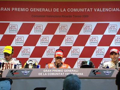 Full Valencia post-race press conference