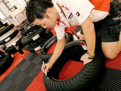 Promising initial feedback for new Bridgestone tyre