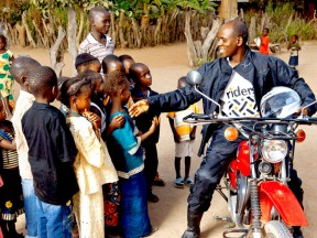 Help save lives in Africa this Christmas with Riders for Health