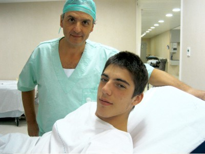 Axel Pons undergoes surgery in Barcelona