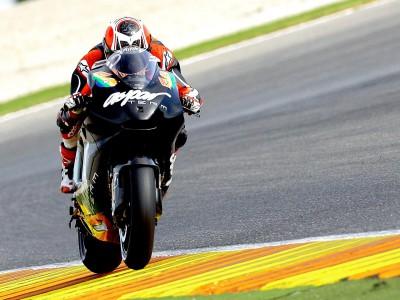 Barberá prosigue su aprendizaje con la Ducati en Jerez