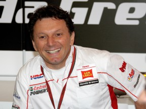 Gresini gives his view