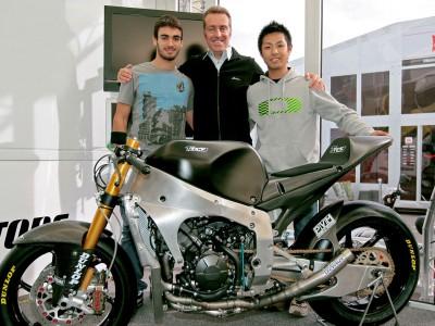 Première sortie du prototype Moto2 de Tech 3