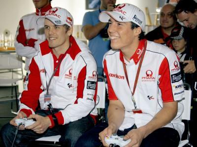 Capcom présente le jeu MotoGP 09/10 à Valence
