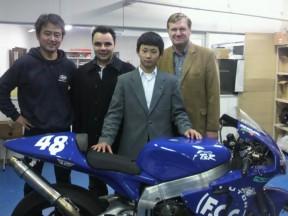 JiR Moto2 scommette sul telaio TSR per Mattia Pasini