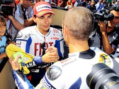 Rossi - Lorenzo à Barcelone : Le classique de l'année 2009