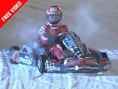 Nicky Hayden s'impose sur glace au Wrooom 2010