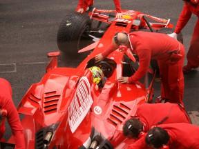 Première journée avec Ferrari réussie pour Rossi
