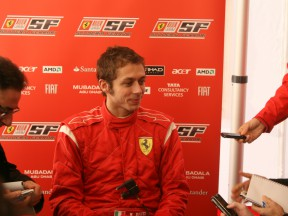 Rossi termine ses essais sur la F2008 en beauté