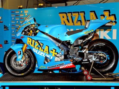 Suzuki annonce la continuité de son partenariat avec Rizla