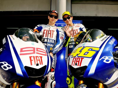 Defining line in Fiat Yamaha garage