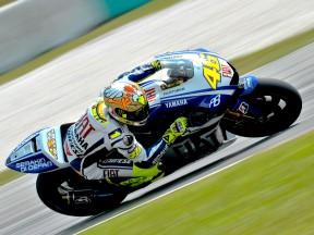 Rossi conclut les essais de Sepang en tête du groupe MotoGP