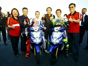 Rossi and Lorenzo enjoy short trip to Thailand