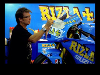 Troy Lee designed für Rizla Suzuki 2010