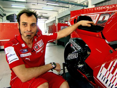 Vittoriano Guareschi explains the new GP10
