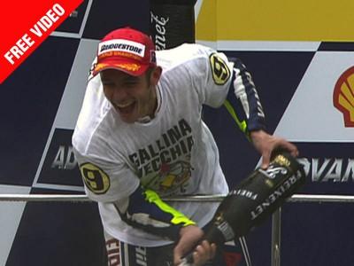 Rossi fête son 31ème anniversaire