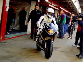 Redding pleased with first Suter ride