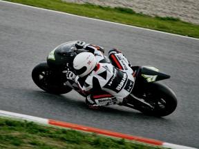 Debutto positivo per Corti nei test Moto2