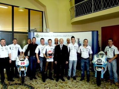El WTR San Marino Team presenta su alineación para 2010