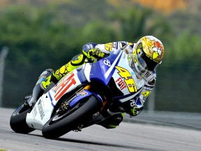 Rossi tops Sepang times on first day