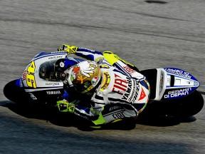 Rossi conclut les essais de Sepang avec le meilleur temps