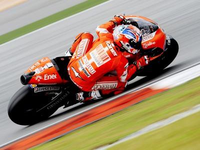 Las Ducati oficiales vuelan en Malasia