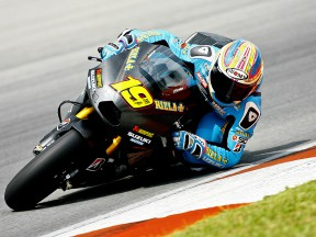 Bautista makes strides and Capirossi is positive