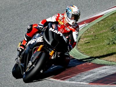 Simón encabeza la tanda de Moto2, Elías es el más rápido del día