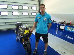 Paul Denning e la nuova Suzuki GSV-R