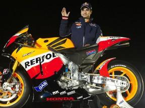 Presentato il team Repsol Honda 2010