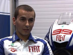 Jorge Lorenzo: 'Siempre confío en mí mismo y en la moto'