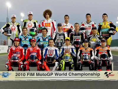 MotoGPクラスの2010年暫定エントリーリスト発表